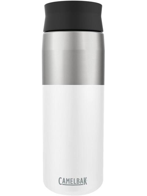 CamelBak Hot Cap Vacuum Insulated Stainless Bottle 600ml white